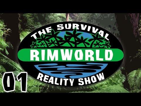 RimWorld: The Survival Reality Show - Episode 1 [Rimworld Alpha 14 Custom Scenario]