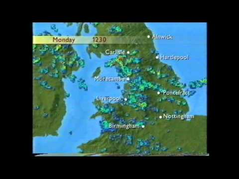 BBC Weather 13th July 1998