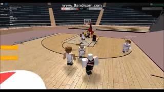 Hoops Montage Ep. 1 (new basketball game on ROBLOX) #Ballin