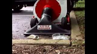 Little Wonder® High Performance Leaf & Debris Vacuum Clears Any Surface, Any Place