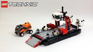 Лего Техник 42076 Корабль на воздушной подушке – Обзор / Lego Technic 42076 Hovercraft - Review