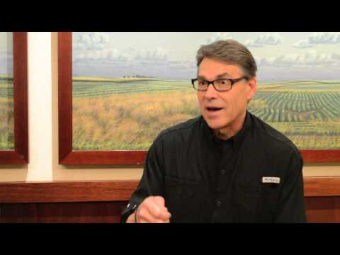 Rick Perry Talks About 2016 Campaign