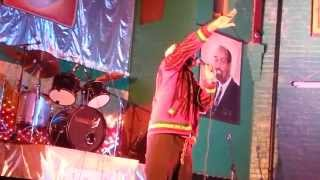 Ras Char Performing At Twelve Tribes Hq Manchester Moss-Side Bank Holiday Monday