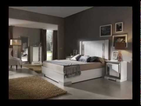 Dormitorios de matrimonio elegantes con sinfonieres y - Habitaciones juveniles con estilo ...