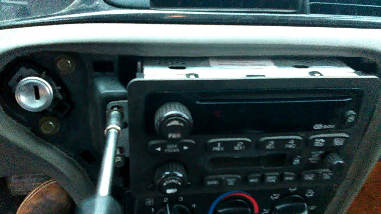 2002 Chevy Silverado Radio Installation