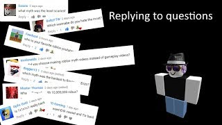 Replying To Questions
