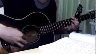 『紅の豚』からそのED、「時には昔の話を」を弾かせていただきました。 楽譜は南澤大介さんの『ソロギターのしらべ スタジオジブリ作品集』...