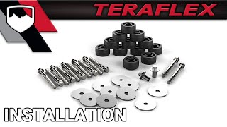 "TeraFlex Install: JK "" Body Lift Kit (4152100)"