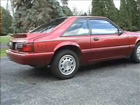 1992 Mustang Lx 2 3 Hatchback For Sale Youtube