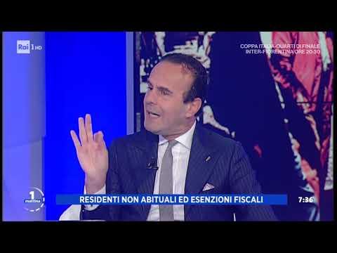 Pensioni in Portogallo, scatta l'imposta del 10% - Unomattina 29/01/2020