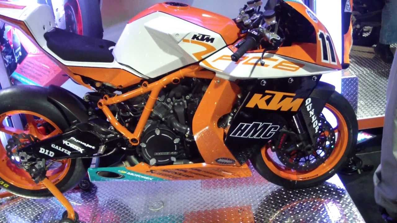 ktm 1190 rc8 race bike youtube