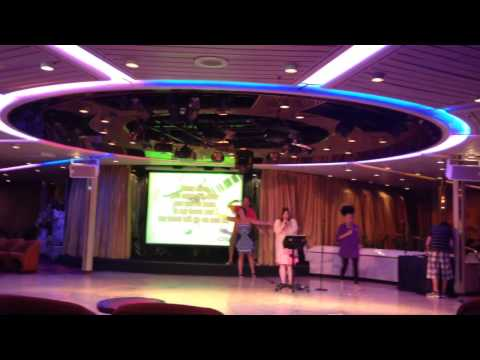Majesty cruise 1 - karaoke night n iceberg