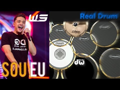 Real Drum 🎶 Sou eu - Wesley Safadão 🎶 Nilkson Drummer