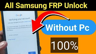 Samsung j2 Frp By Pass without Pc || Samsung frp unlock