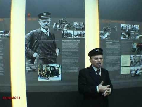 Mit dem letzten Lehrling von August Horch, Edgar Friedrich, ins Horchmuseum nach Zwickau