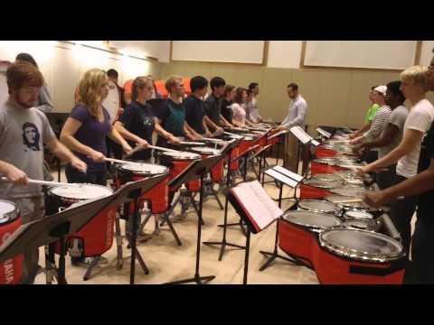 UVA Drumline: Breathe 2.0 at the Hunter Smith Band Building