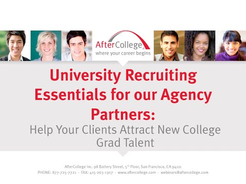 Help Your Clients Attract New College Grad Talent