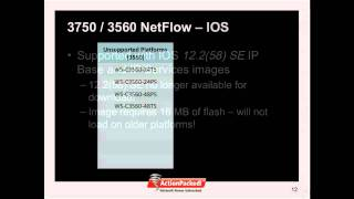 netflow and the cisco catalyst 3750 3560 video 1 of 3 overview