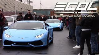 Video Exotic Cars of London [ECOL] - London to MSL Performance (Mercs, BMW's, Lambo's, Porsche's and MORE) download MP3, 3GP, MP4, WEBM, AVI, FLV April 2018