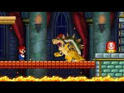 New Super Mario Bros. (DS) 100% Walkthrough - World 1 (All Star Coins & Secret Exits)