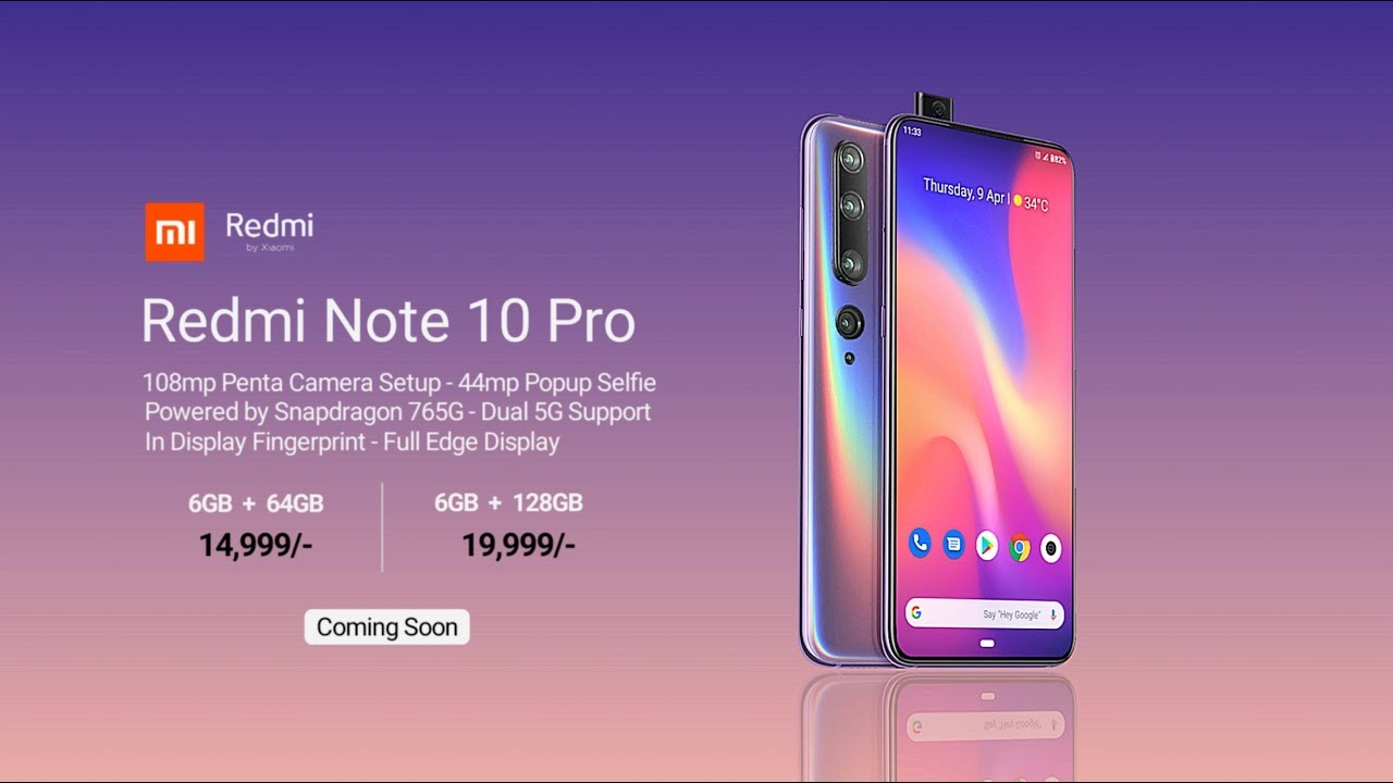 Redmi Note 10 Pro - 5G, Everything You Need To Know - YouTube