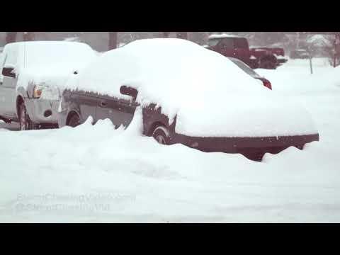 Saratoga Springs NY Winter Storm - 1/29/2019