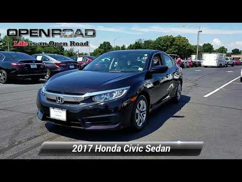 Certified 2017 Honda Civic Sedan LX, Edison, NJ 10926P