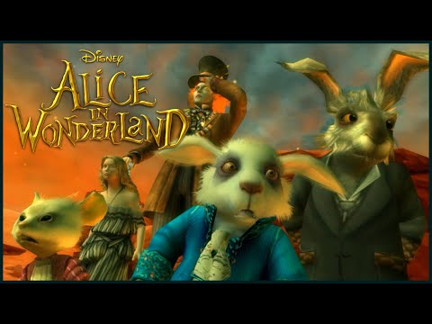 Tim Burton's Alice in Wonderland All Cutscenes | Full Game Movie (Wii, PC)
