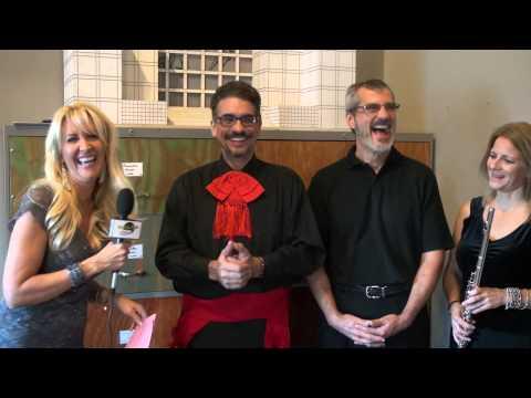 Backstage Interview with Cantata Santa Maria de Iquique Sones de Mexico Ensemble