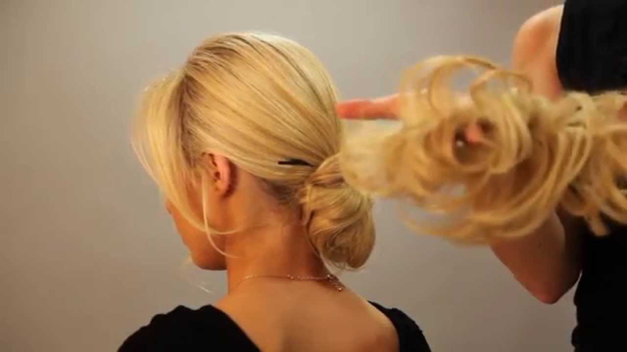 Scrunchie Hair Styles: Scrunchie & Hair Chopsticks