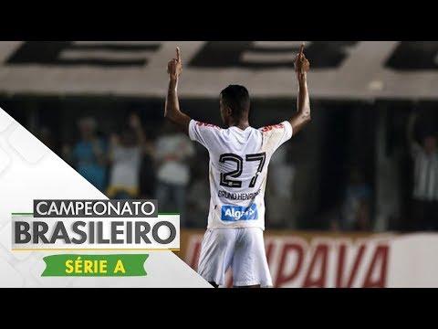 Melhores Momentos - Santos 1 x 0 Atlético-PR - Campeonato Brasileiro (23/09/2017)
