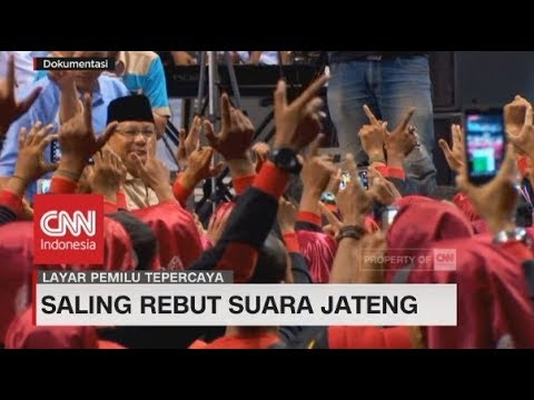 Saling Rebut Suara Jateng