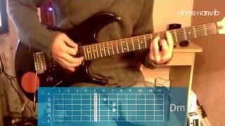 """Cómo tocar """"La Chispa Adecuada"""" de Héroes del Silencio en guitarra (HD) Tutorial - Christianvib"""