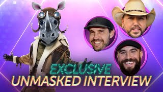 Rhino's First Interview Without The Mask | Season 3 Ep. 16 | THE MASKED SINGER