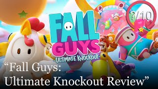 Fall Guys: Ultimate Knockout Review [PS4 & PC] (Video Game Video Review)