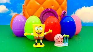 Sponge Bob Surprise Eggs SPECIAL  आश्चर्य अंडे विशेष