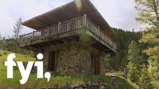 Tiny House Nation: A Tour Of The Fire Lookout  S1, E5  | Fyi