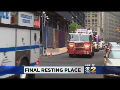 Remains Of Unidentified 9/11 Victims Returned To World Trade Center Site