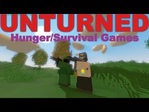Unturned | Hunger/Survival games! #2 Nauja komentatorė - Ema!