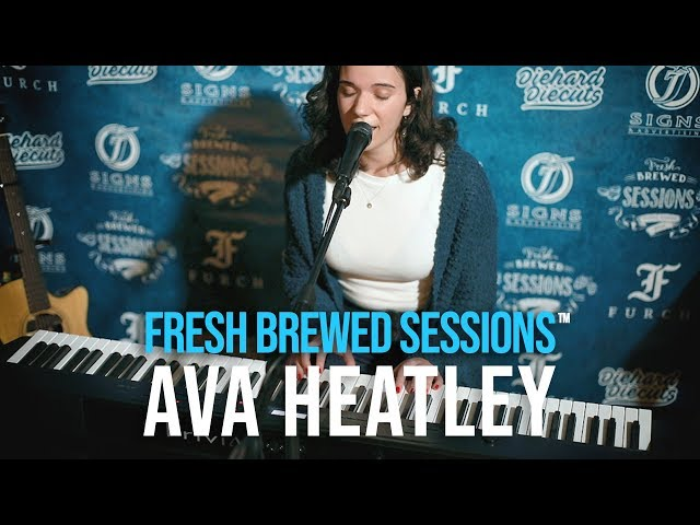 #acoustic #singersongwriter Ava Heatley | Beautiful/Terrifying | Fresh Brewed Sessions