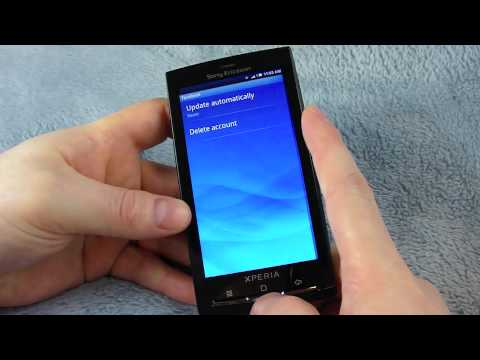 Sony Ericsson XPERIA X10 (Unlocked): Unboxing and Hands On ...