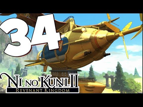 Ni No Kuni 2 Walkthrough Part 34 All Aboard the Zippelin!
