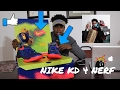 CRAZY NIKE KD 4 NERF REVIEW !!! PICK UP OF THE YEAR!!