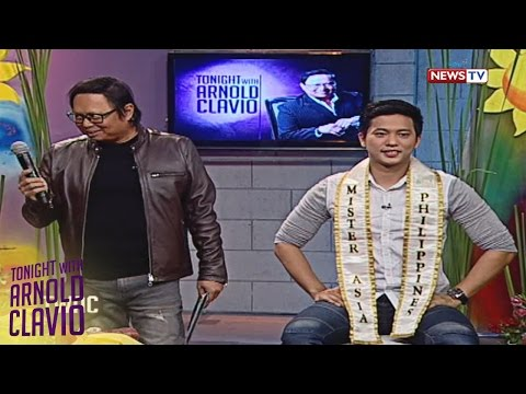 Tonight with Arnold Clavio: Divine bags date with Mr. Asia