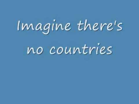 John Lennon - Imagine - SING-A-LONG LYRICS