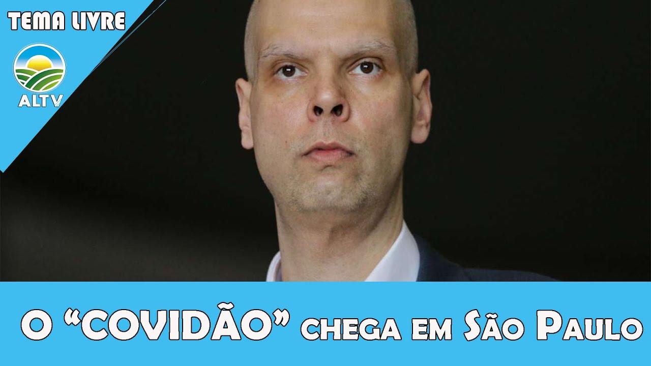 """Urgente! O """"COVIDÃO"""" chega em São Paulo PF em cima"""