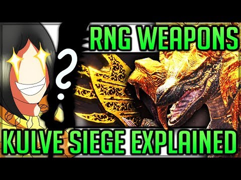 Kulve Taroth - RNG Relic Weapons Return - Ecology/Siege/Event/DLC Explained - Monster Hunter World!