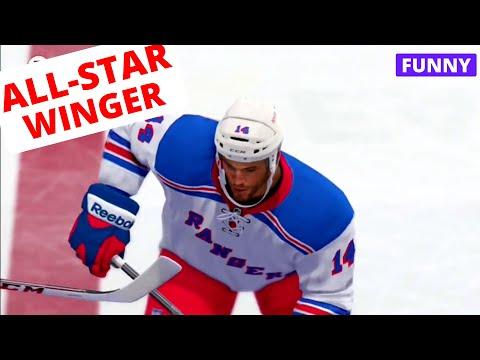 NHL 14 EASHL Fun #7 - ALL-STAR WINGER (Power Laugh)
