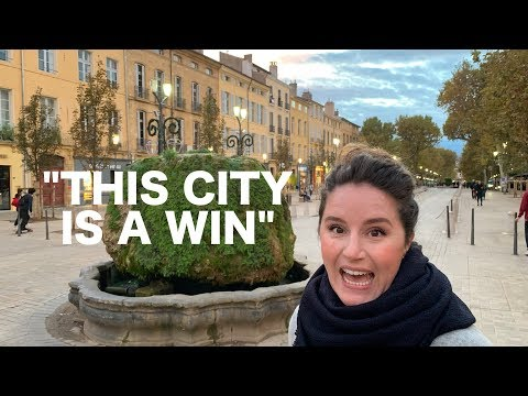 AIX-EN-PROVENCE, FRANCE:  Train To The South Of France...AIX Is AWESOME! | Ep. 30