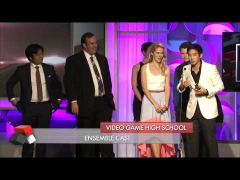 Video Game High School Wins Best Ensemble Cast - Streamy Awards 2014